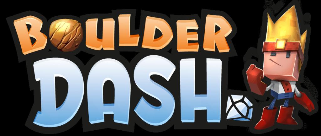 Boulder Dash 30 anniversary title