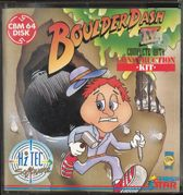 Boulder Dash 4 Cover Image C64 Commodore