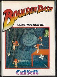 Boulder Dash Construction Kit Cover Image c64