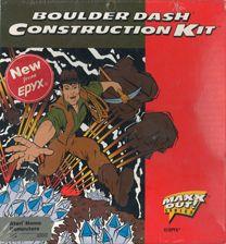 Boulder Dash Construction Kit Cover Image c64 Atari