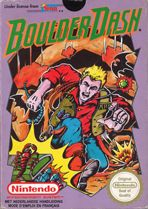 Boulder Dash Cover Image Nintendo