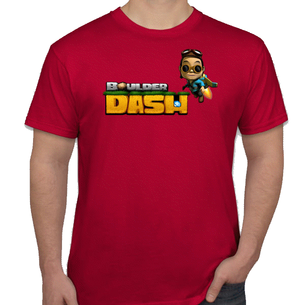 t-shirt Boulder Dash 3