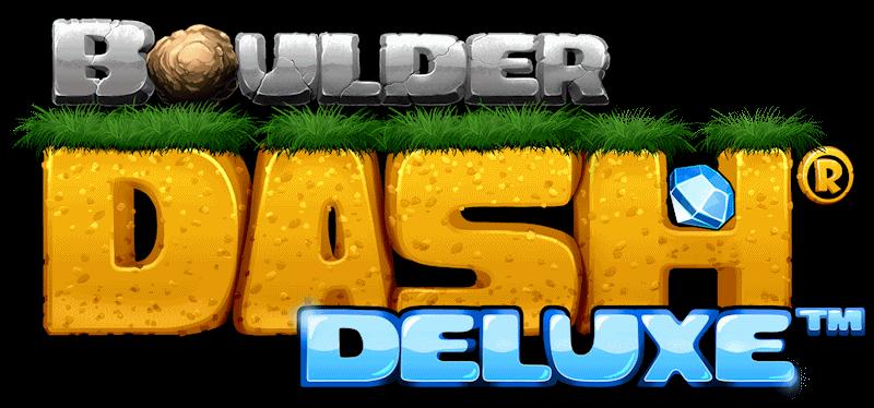 Logo Boulder Dash Deluxe