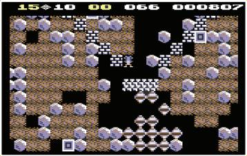 » [C64] The ingenious 'funnel' cave had you pouring rocks through a magic wall to create diamonds