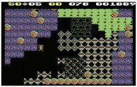 [C64] The butterflies versus ameoba encounter in Cave M is a true Boulder Dash classic.
