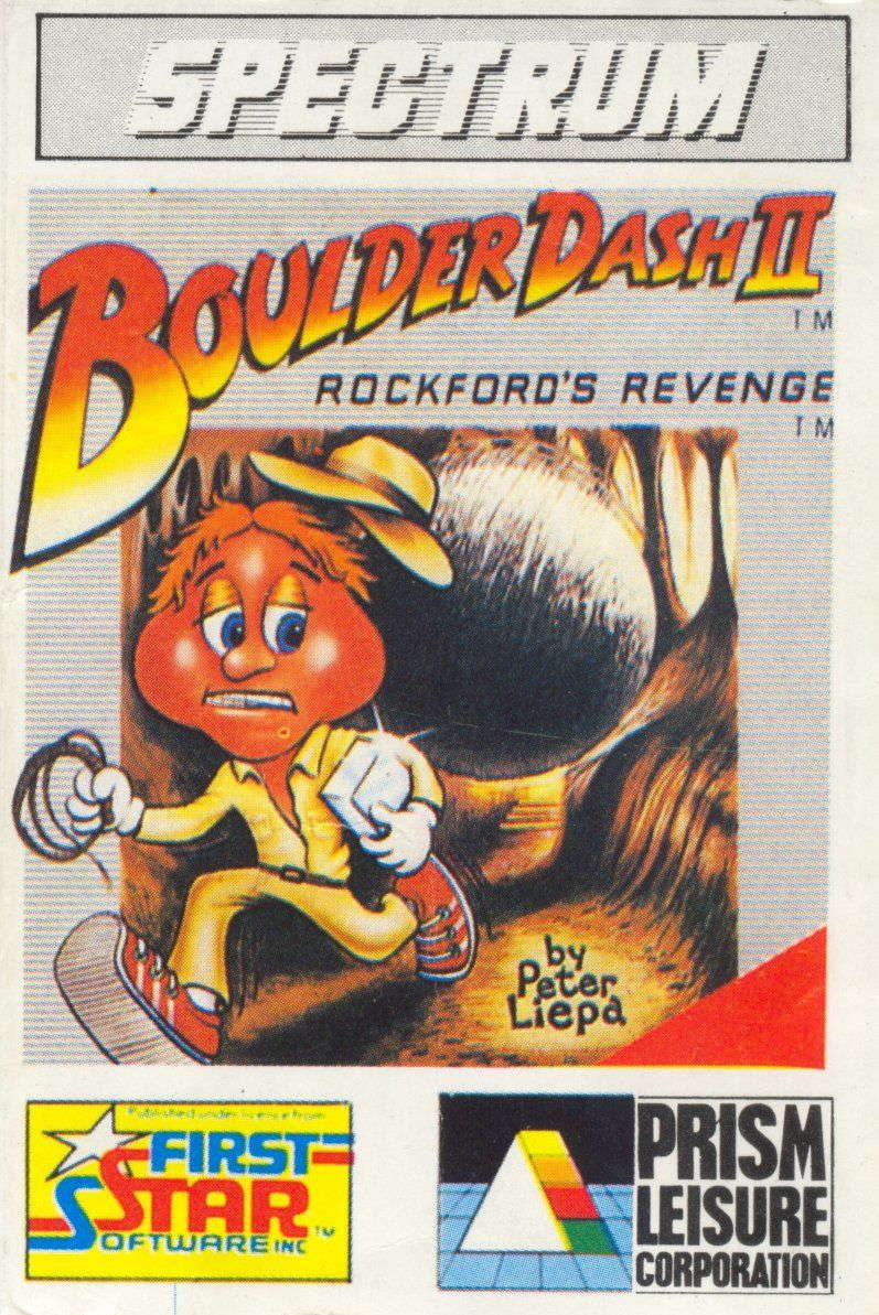 Boulder Dash II cover Spectrum