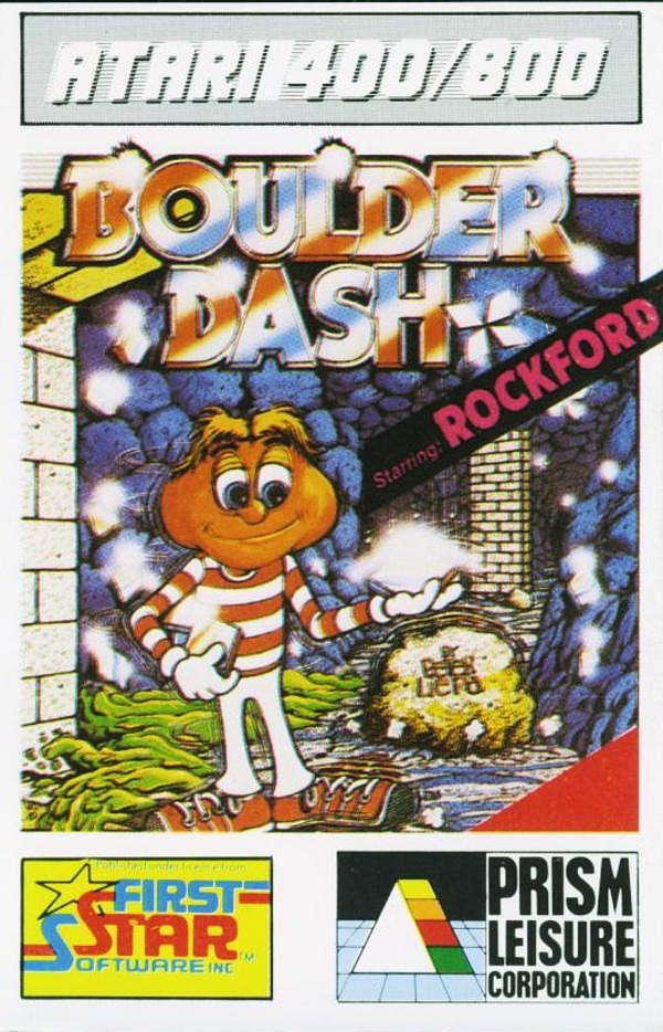 Boulder Dash Atari 400 800 XL XE Boulder Dash