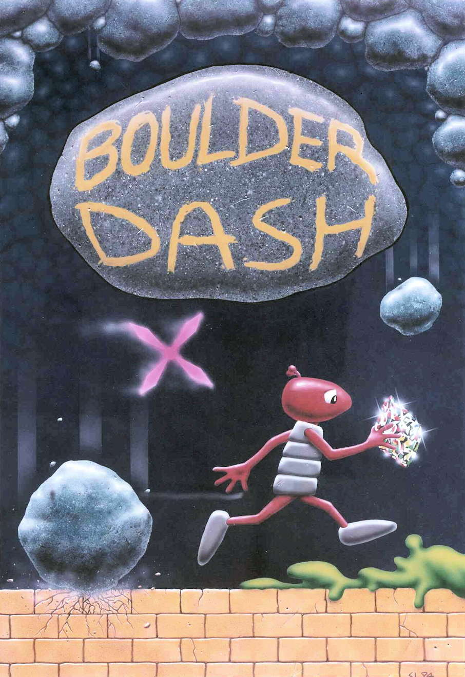 Boulder Dash for ZX Spectrum (1984)
