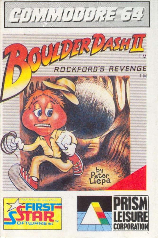 Boulder Dash II cover Commodore 64