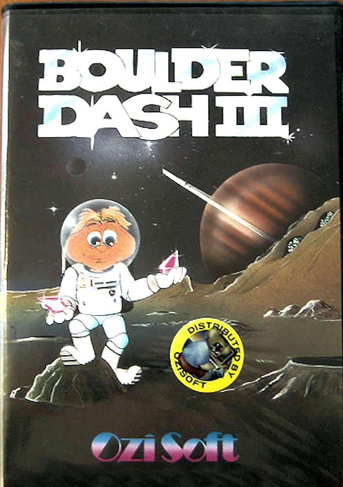 Boulder Dash III cover OziSoft