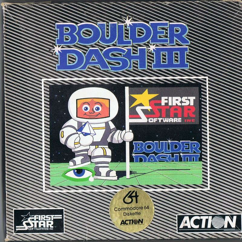 Boulder Dash III cover Action Commodore 64