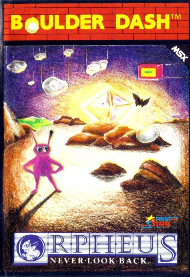 Boulder Dash MSX (1985) Cassette,
