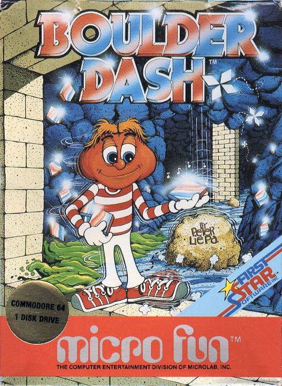 Boulder Dash USA Cover -Micro Fun