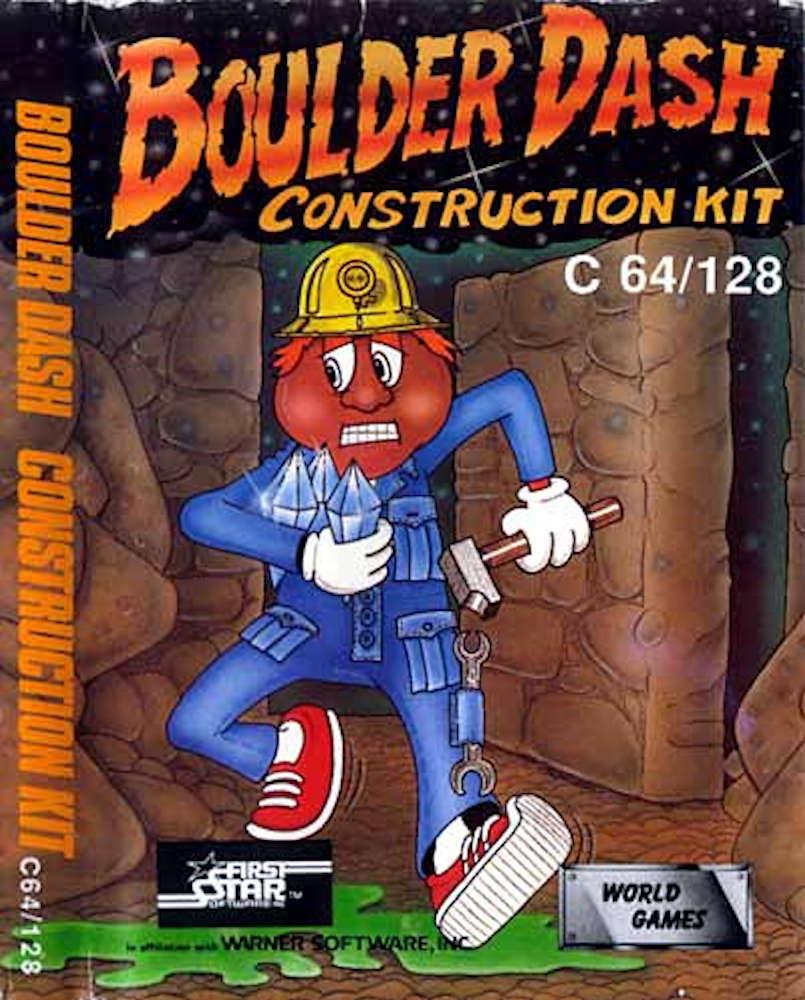 Boulder Dash Construction Kit C64 / 128