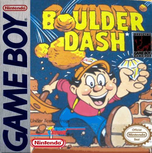 Boulder Dash Cover Image Game Boy