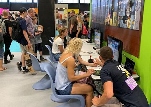 Gamescom 2019 photo 5 of Fans Boulder Dash