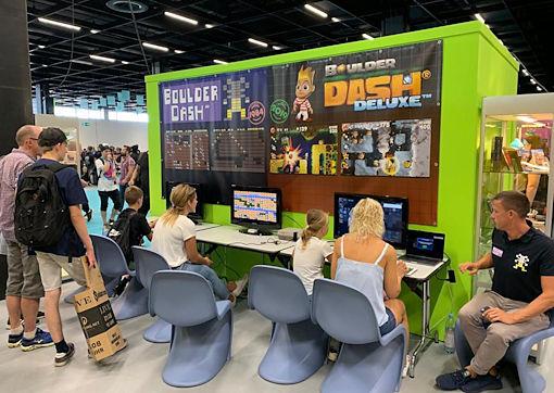 Gamescom 2019 photo 4 of Fans Boulder Dash