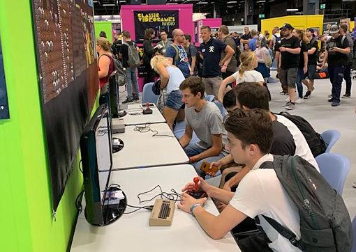 Gamescom 2019 photo 2 of Fans Boulder Dash