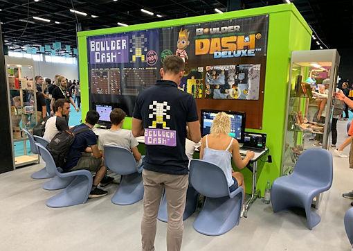 Gamescom 2019 photo 1 of Fans Boulder Dash