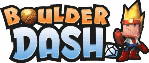 Boulder Dash 30th Anv. Logo