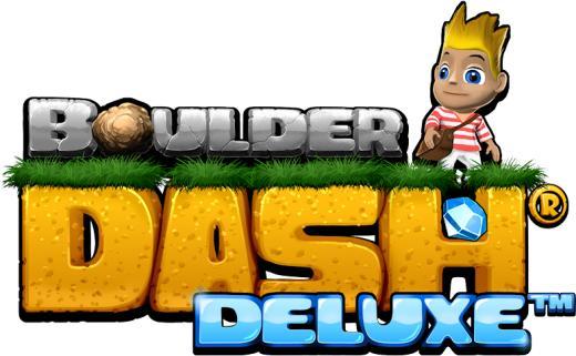 Boulder Dash Deluxe Logo