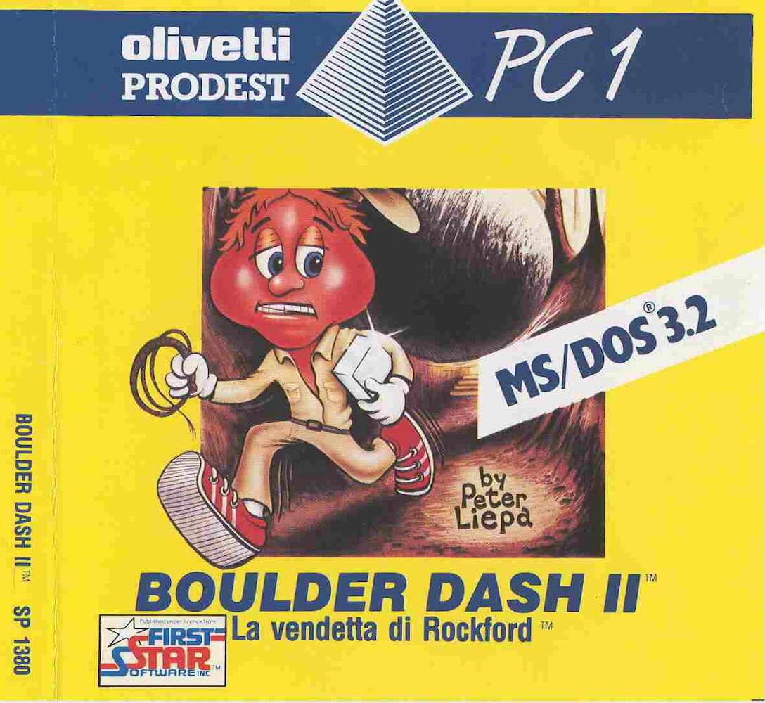 Boulder Dash II Cover Image PC1