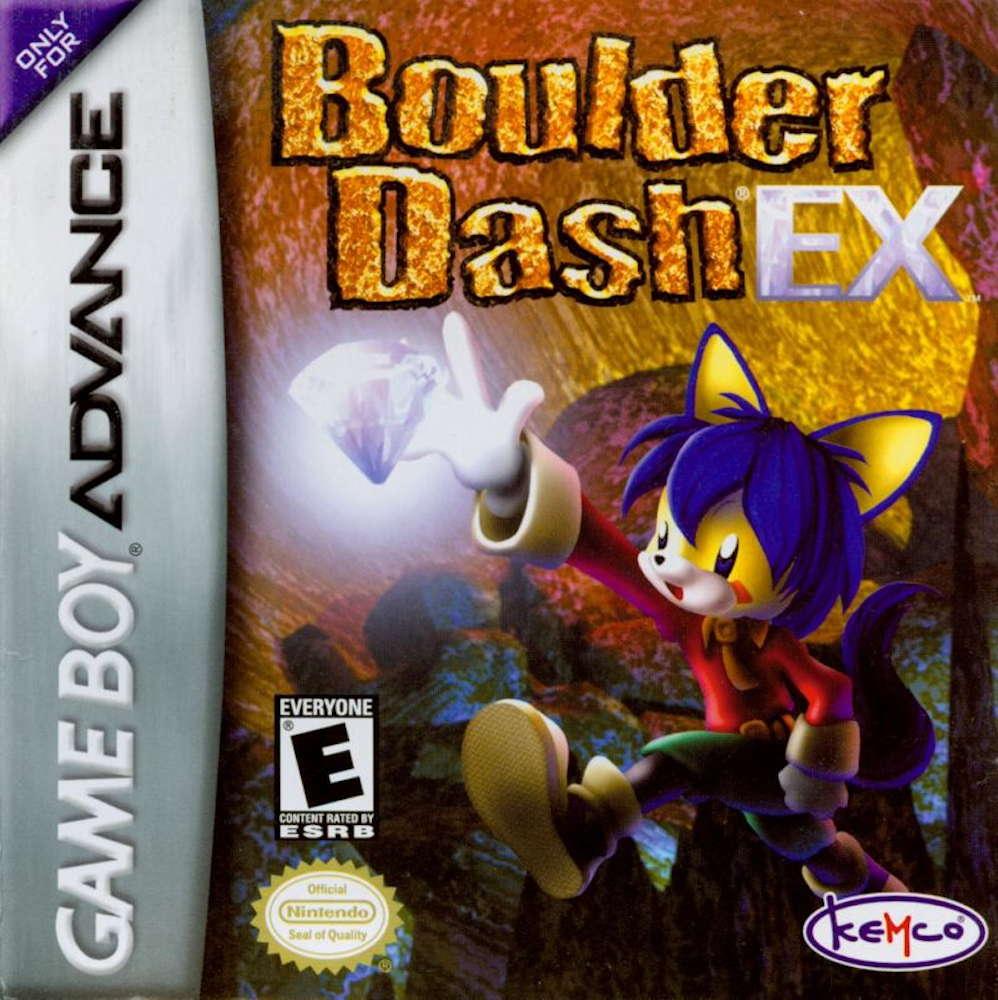 Boulder Dash EX cover image kemCo