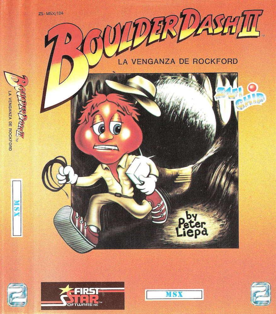 Boulder Dash II cover image MSX