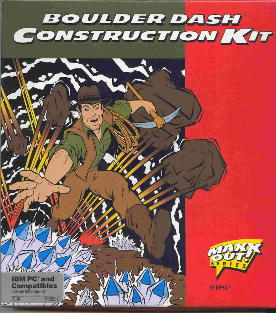 Boulder Dash Construction Kit IBM PC