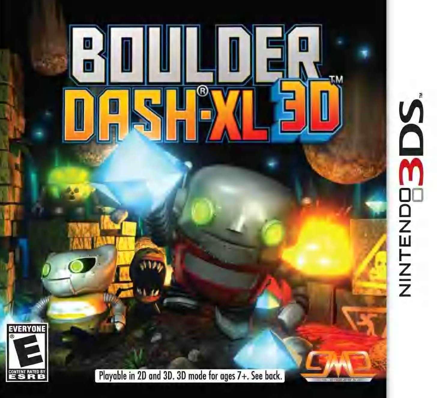 Boulder Dash XL 3D 3DS PC