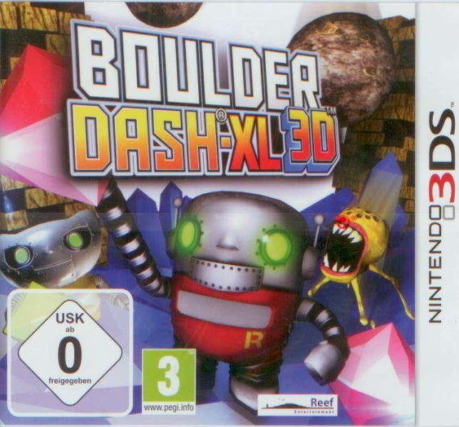 Boulder Dash XL 3D 3DS
