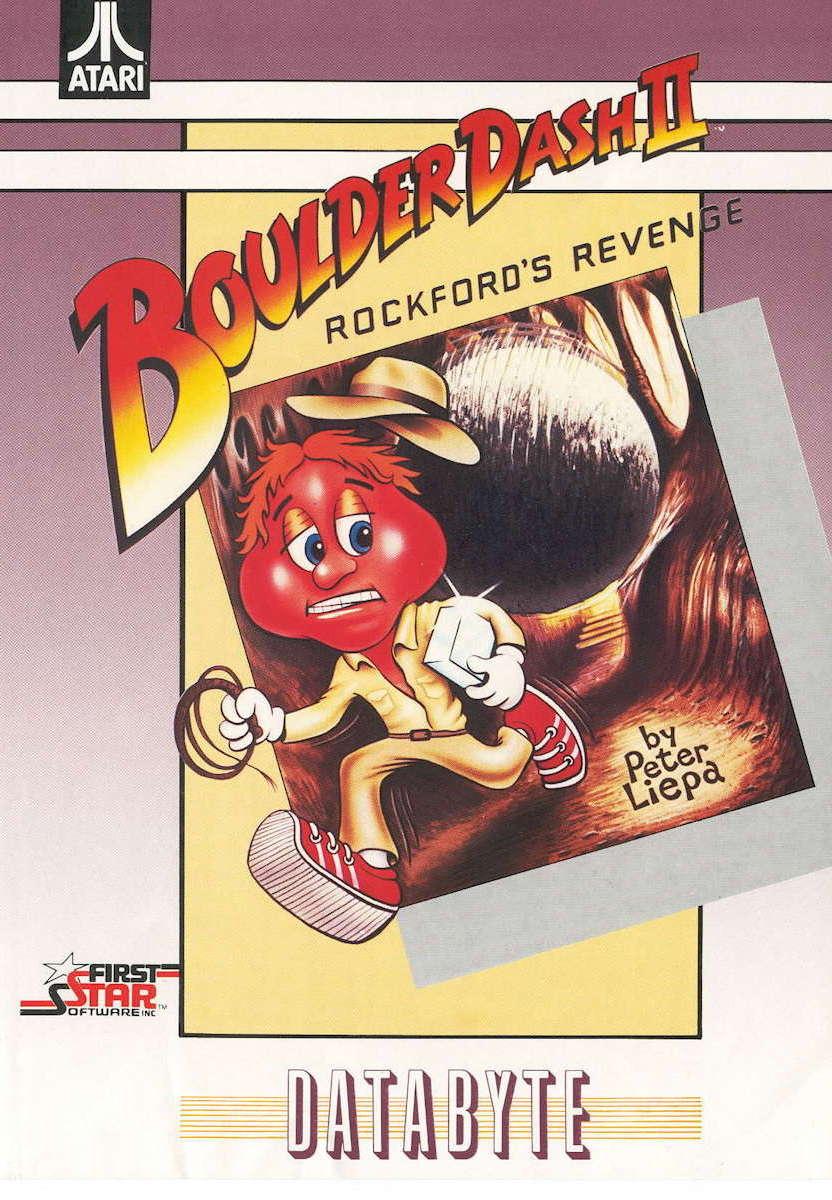 Boulder Dash II cover image databyte