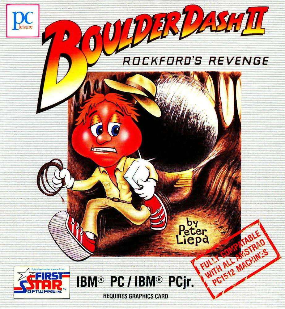 Boulder Dash II cover image IBM PC / IBM PCjr