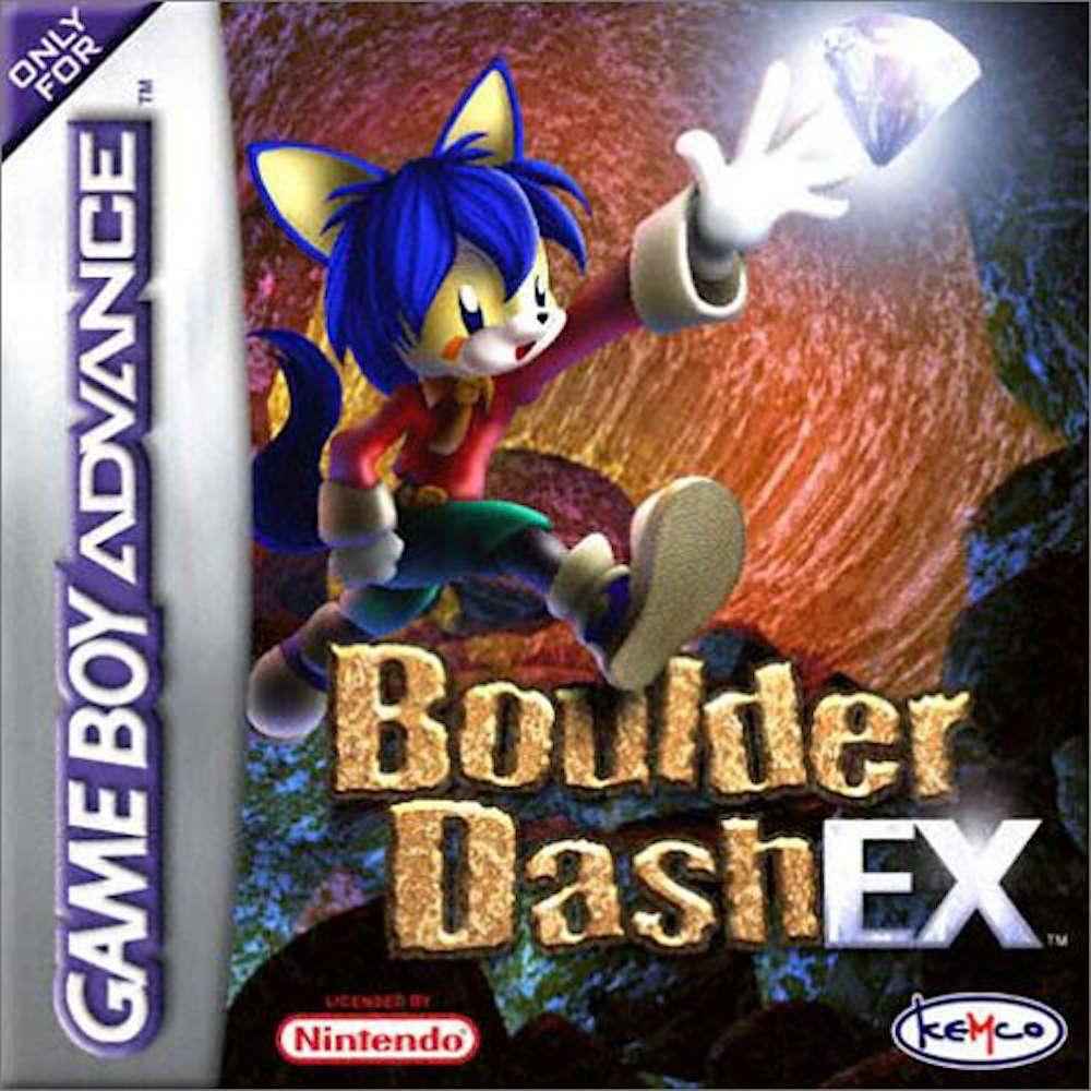 Boulder Dash EX cover image