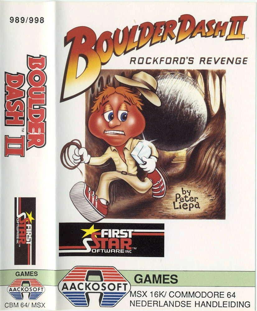 Boulder Dash II cover image MSX 64 / commodore 64