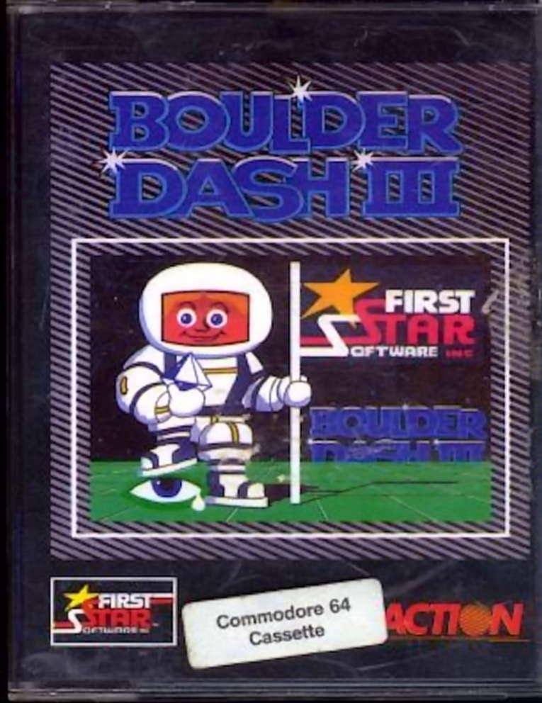 Boulder Dash Construction Kit CBM 64
