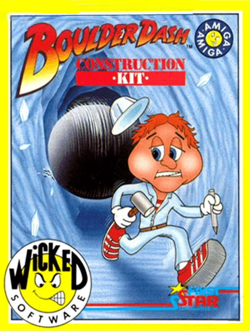 Boulder Dash Construction Kit Amiga cover image