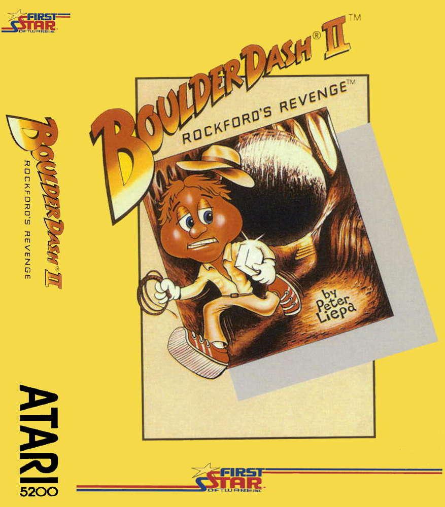 Boulder Dash II ATARI 5200