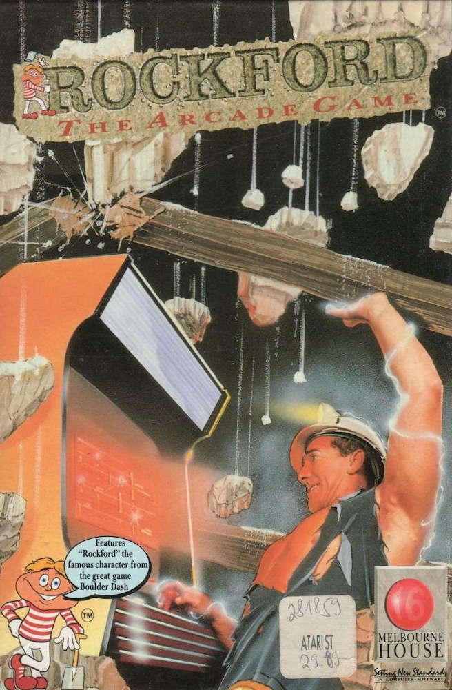 Rockford cover image Atari ST