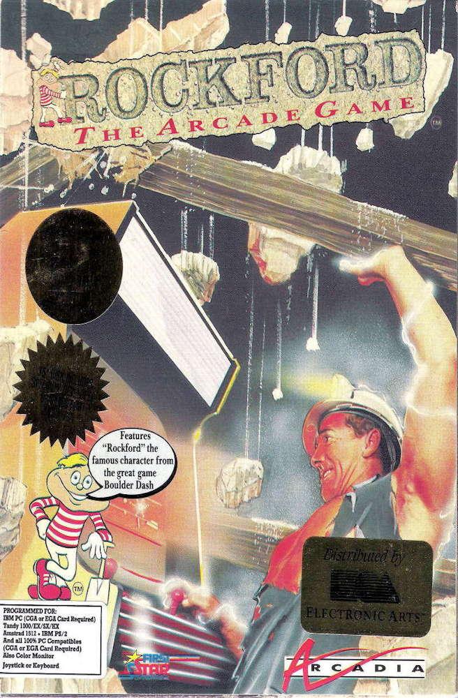Rockford cover image Commodore 64
